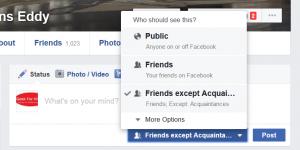 Facebook acquaintence list 7
