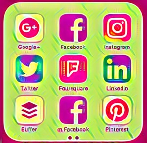 Social Media Apps on your phone
