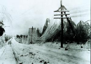Power Lines Down | Source: WikiMedia