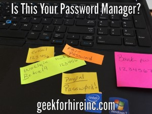 password mistakes