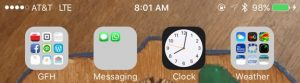 LTE or 4G service