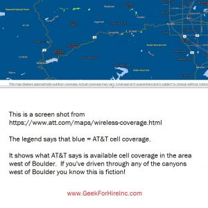 AT&T Cell Coverage