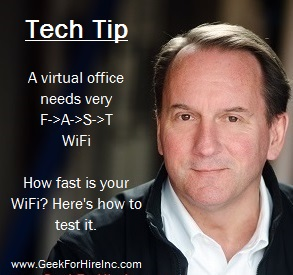 virtual office fast wifi