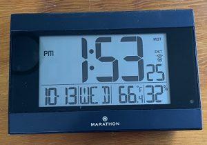 Digital Clocks make Daylight Savings easier